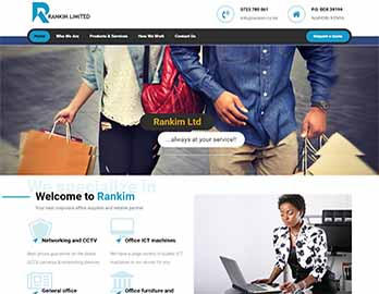 Web Design In Kenya By Nelium Systems - Home Of Quality Designs