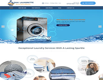 Web Design In Kenya By Nelium Systems - Home Of Quality Designs Laundry