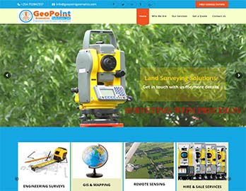 Web Design In Kenya By Nelium Systems - Home Of Quality Designs Survey