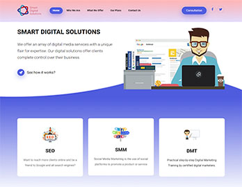 Web Design In Kenya By Nelium Systems - Home Of Quality Designs Marketing